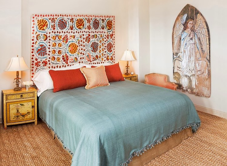 how to make a moroccan headboard