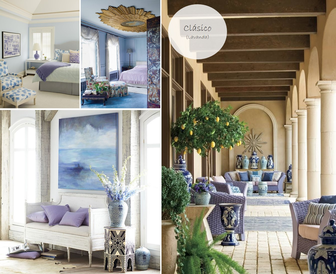 Color del mes lavanda casas que inspiran for Decoraciones para salas 2016